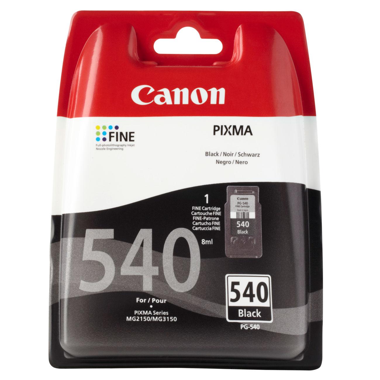 Cartouche imprimante Canon PG-540 Cartouche d'encre noire
