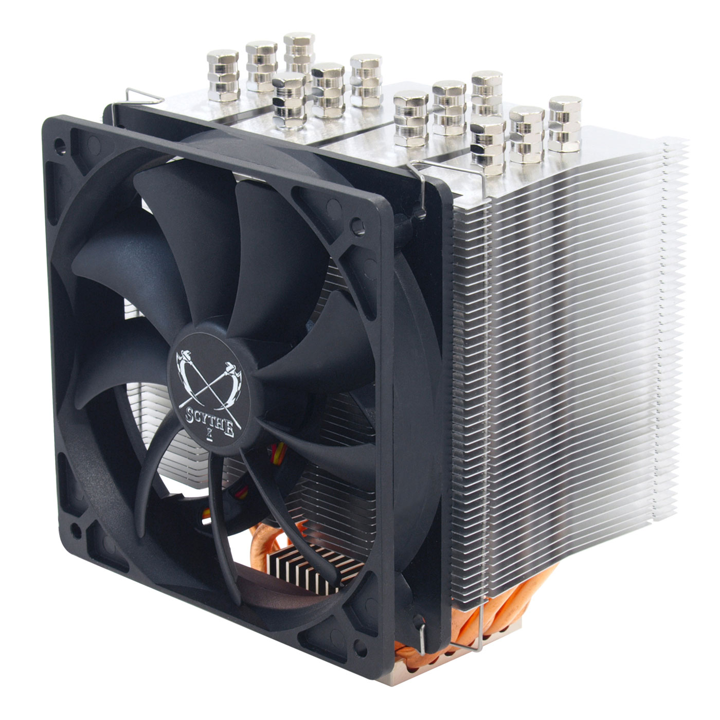 Ventilateur processeur Scythe Mugen 3 Rev. B Ventilateur pour processeur (pour socket Intel 775 / 1150/1151/1155 / 1156 / 1366 / 2011 et AMD AM2 / AM2+ / AM3 / AM3+ / FM1)