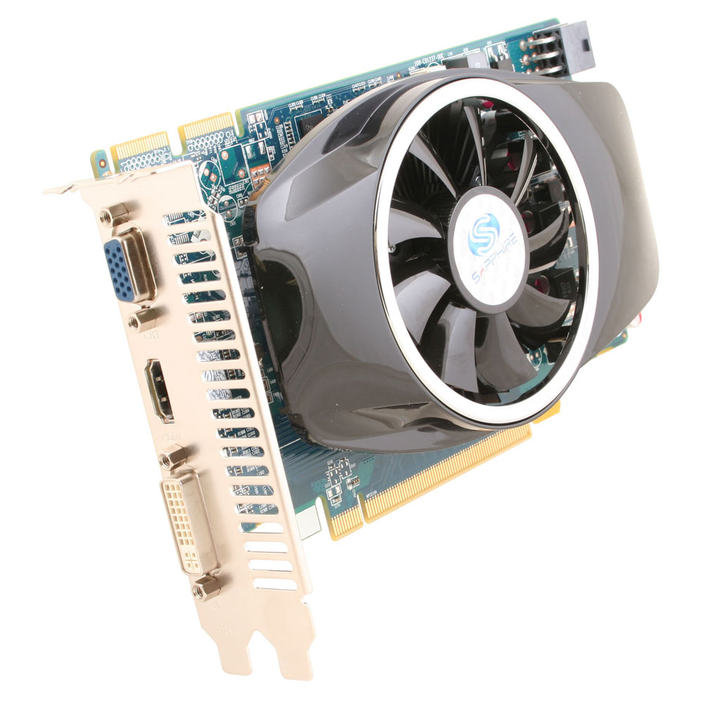 Carte graphique Sapphire Radeon HD 6750 1 Go 1 Go HDMI/DVI - PCI Express (AMD Radeon HD 6750)