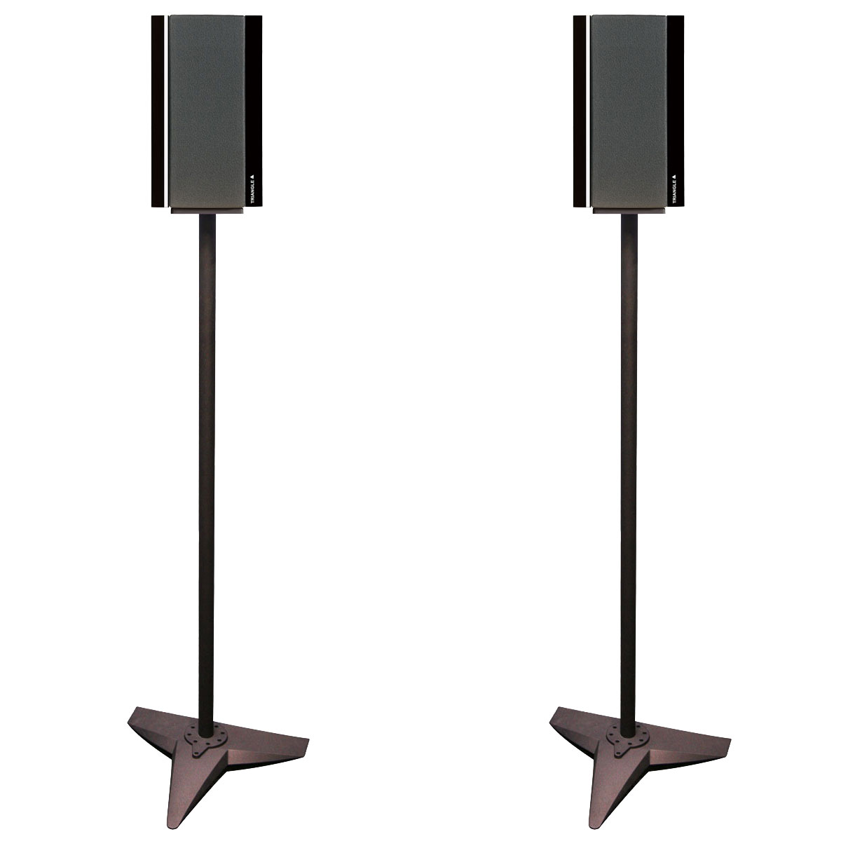 triangle pieds galaxy noir pied support enceinte triangle sur ldlc. Black Bedroom Furniture Sets. Home Design Ideas