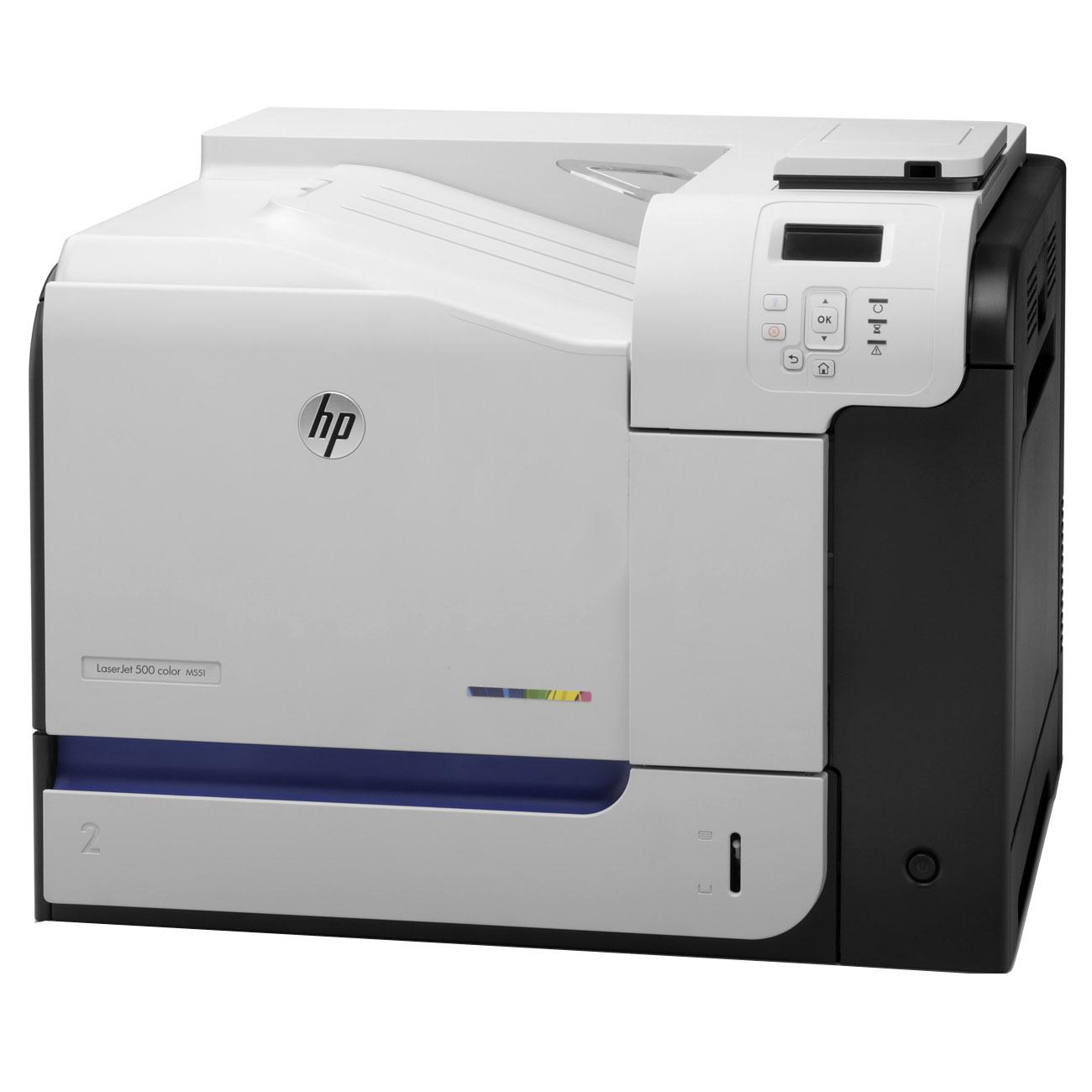 hp laserjet enterprise 500 m551dn cf082a imprimante. Black Bedroom Furniture Sets. Home Design Ideas