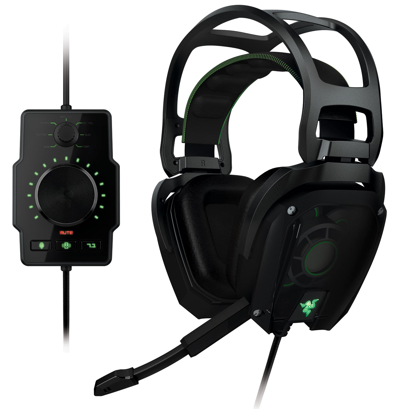 razer tiamat 7 1 micro casque razer sur ldlc. Black Bedroom Furniture Sets. Home Design Ideas