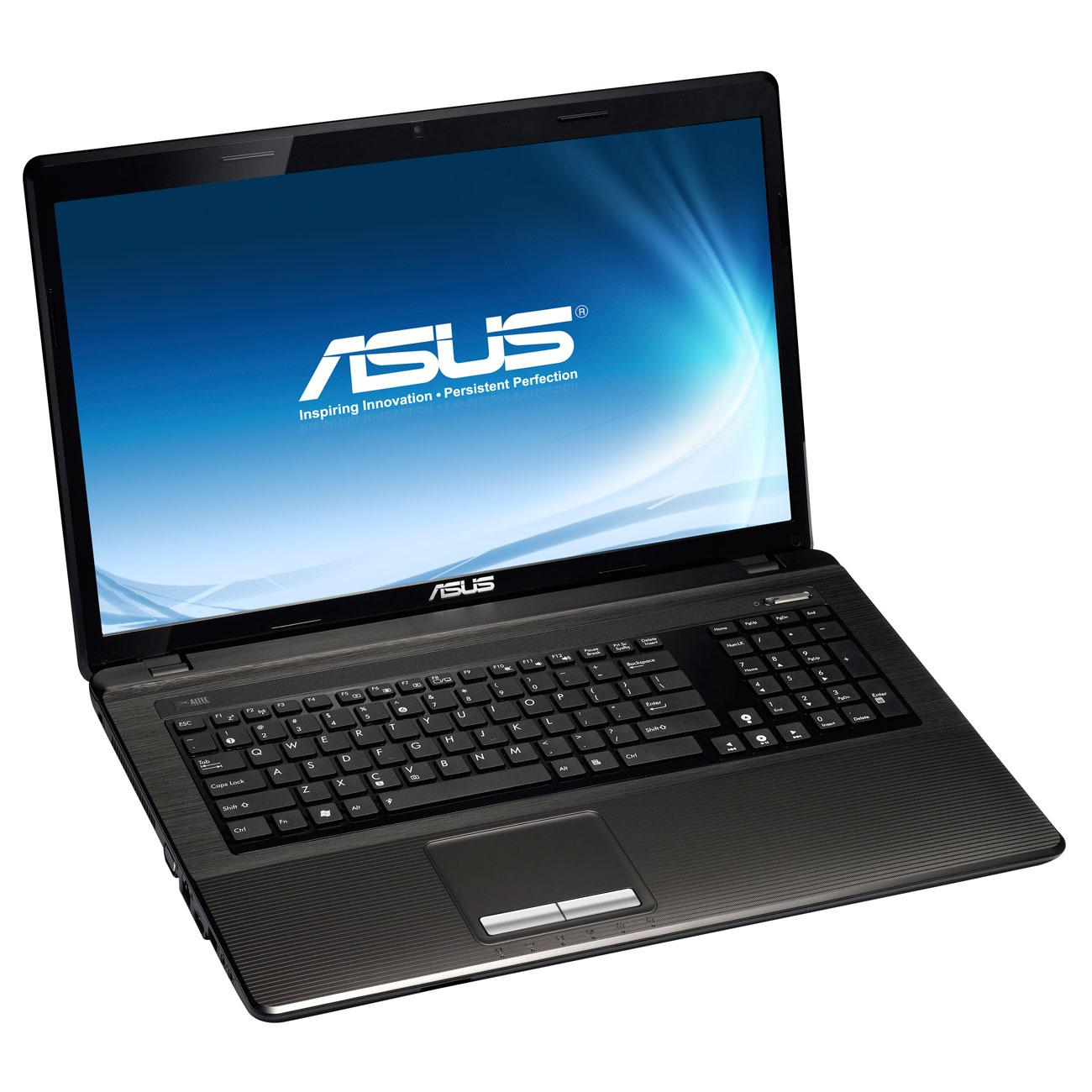 """PC portable ASUS K93SM-YZ005V Intel Core i5-2450M 4 Go 1 To 18.4"""" LED NVIDIA GeForce GT 630M Graveur DVD Wi-Fi N/BT Webcam Windows 7 Premium 64 bits (garantie constructeur 2 ans)"""