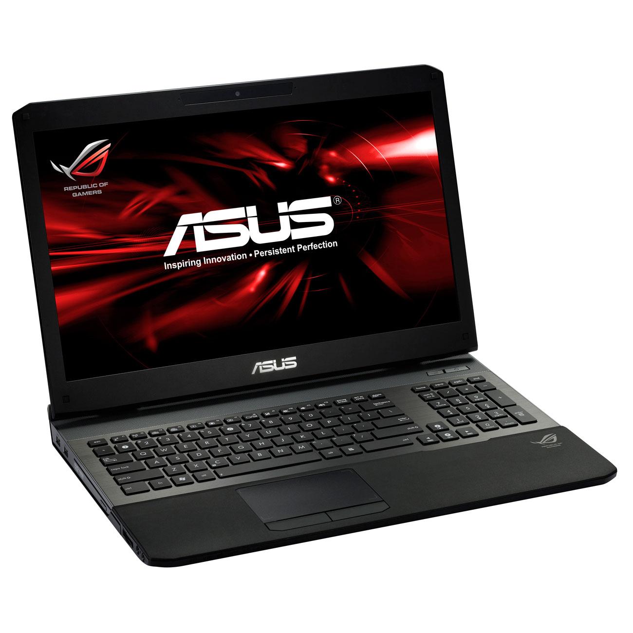 """PC portable ASUS G75VW-T1329V Intel Core i7-3610QM 8 Go SSD 256 Go + HDD 750 Go 17.3"""" LED NVIDIA GeForce GTX 670M Graveur DVD Wi-Fi N/BT Webcam Windows 7 Premium 64 bits (garantie constructeur 2 ans)"""