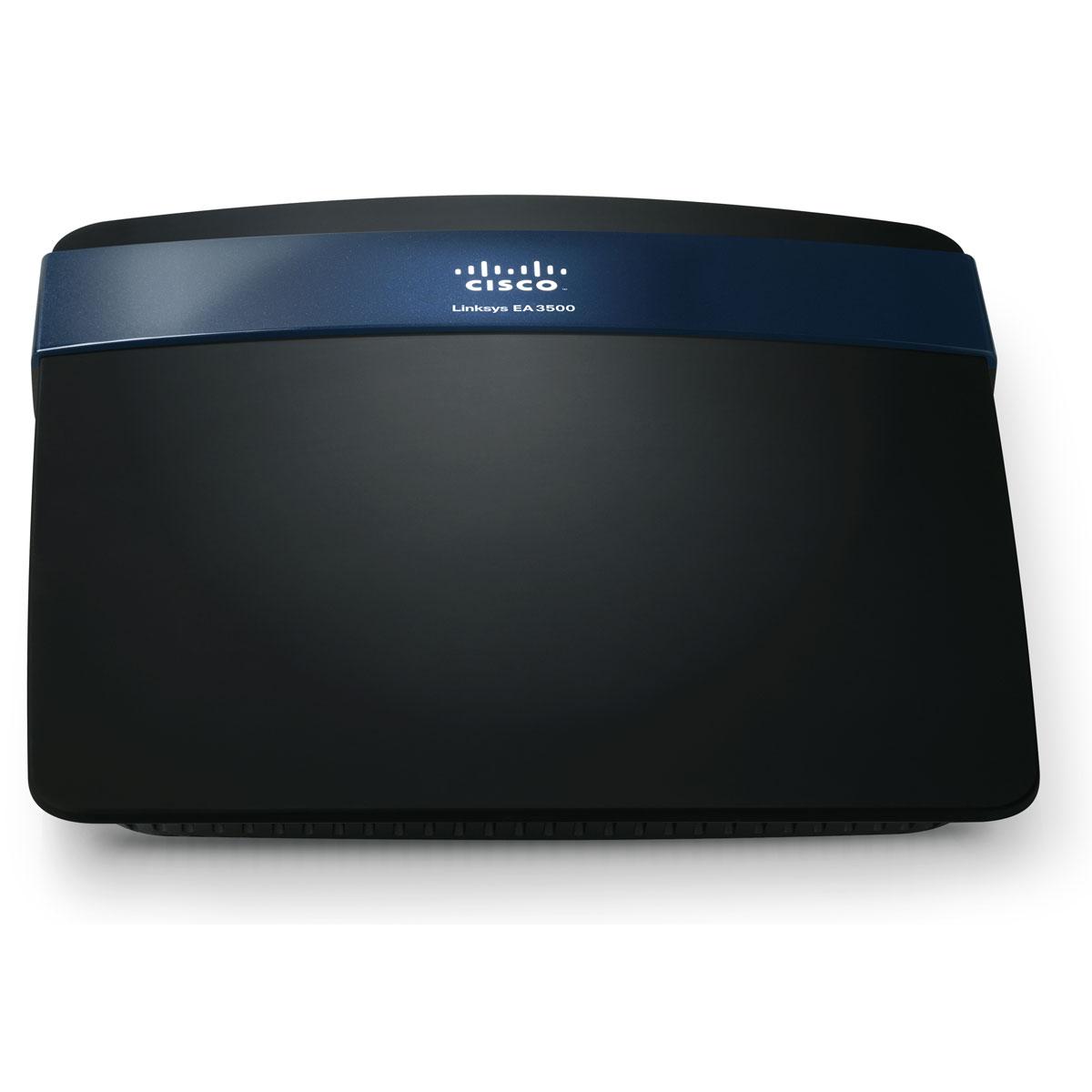 Modem & routeur Linksys EA3500 Routeur haut débit sans fil N 300+450 Mbps Dual band