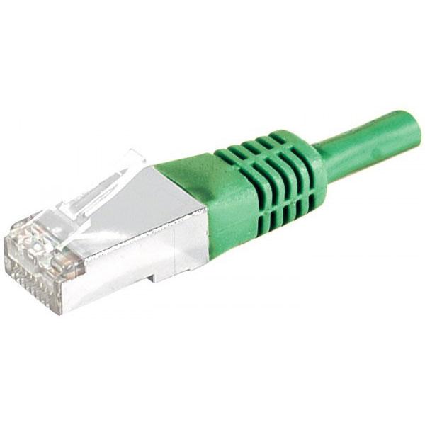 Câble RJ45 Câble RJ45 catégorie 5e F/UTP 0,5 m (Vert) Câble RJ45 catégorie 5e F/UTP 0,5 m (Vert)