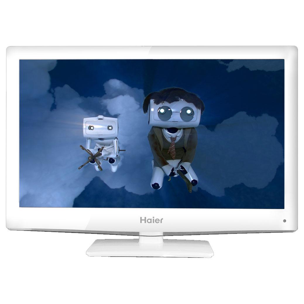 Haier let32c470hf blanc let32c470hf achat vente tv sur - Televiseur led blanc ...