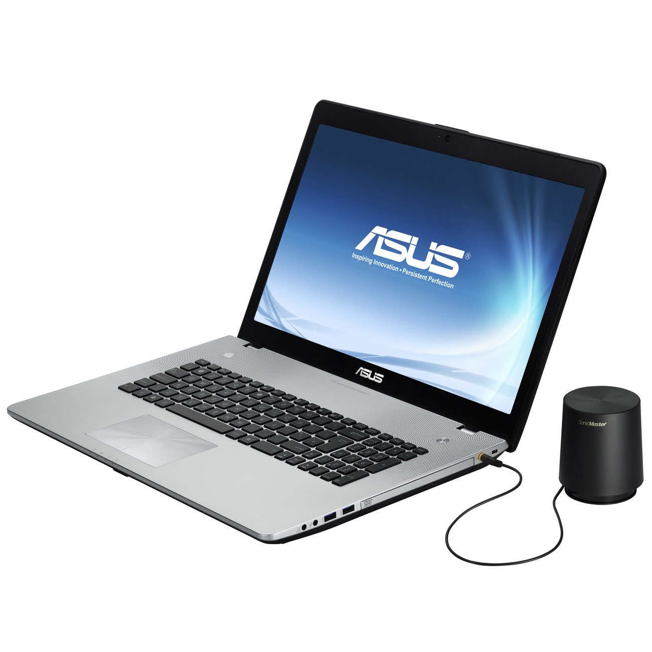asus n76vm v2g t5107v pc portable asus sur ldlc. Black Bedroom Furniture Sets. Home Design Ideas