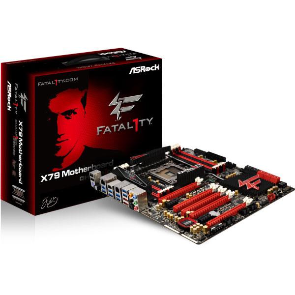 Carte mère ASRock Fatal1ty X79 Champion Carte mère ATX Socket 2011 Intel X79 Express - SATA 6Gb/s - USB 3.0 - 5 x PCI Express 3.0 16x