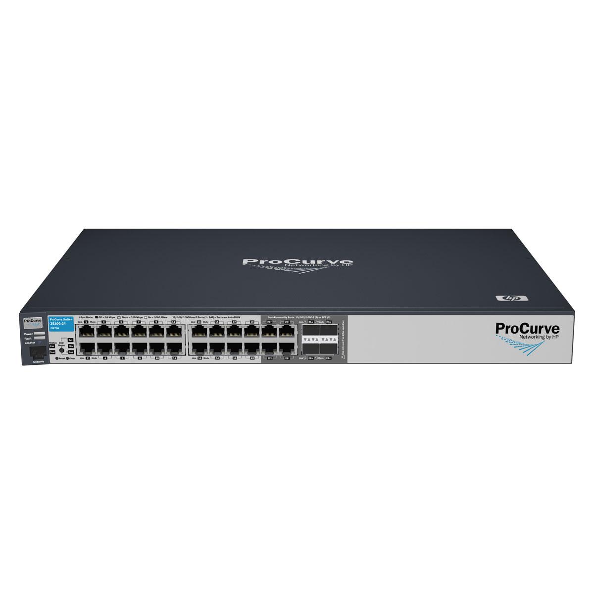 Hp Procurve 2510g 24 Switch Hp Sur Ldlc
