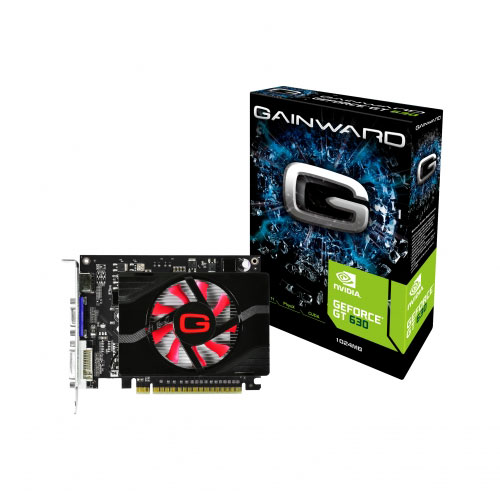 Carte graphique Gainward GeForce GT 630 1 GB 1 Go HDMI/DVI - PCI Express (NVIDIA GeForce avec CUDA GT 630)