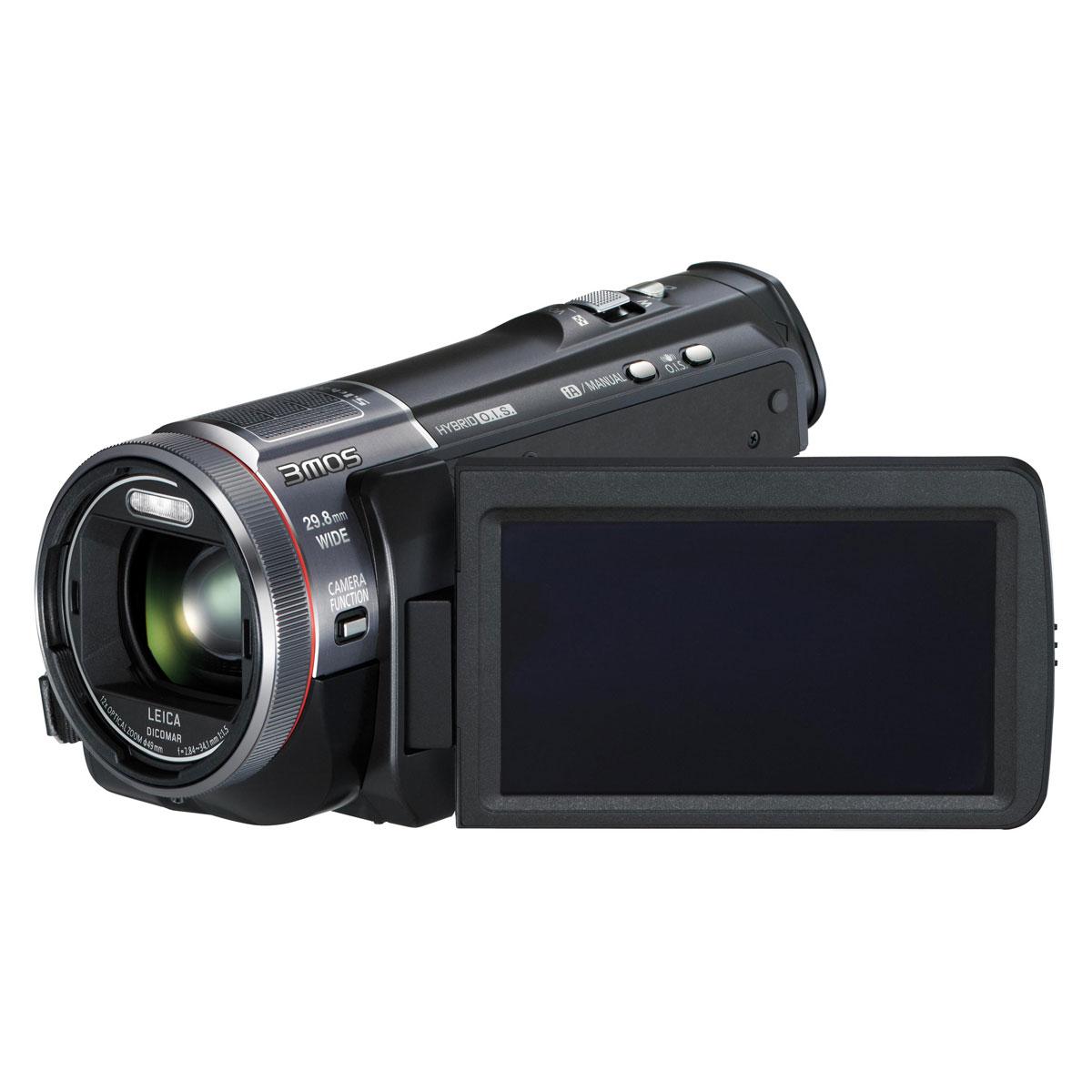 Caméscope numérique Panasonic HC-X900 Noir Caméscope Full HD Carte mémoire