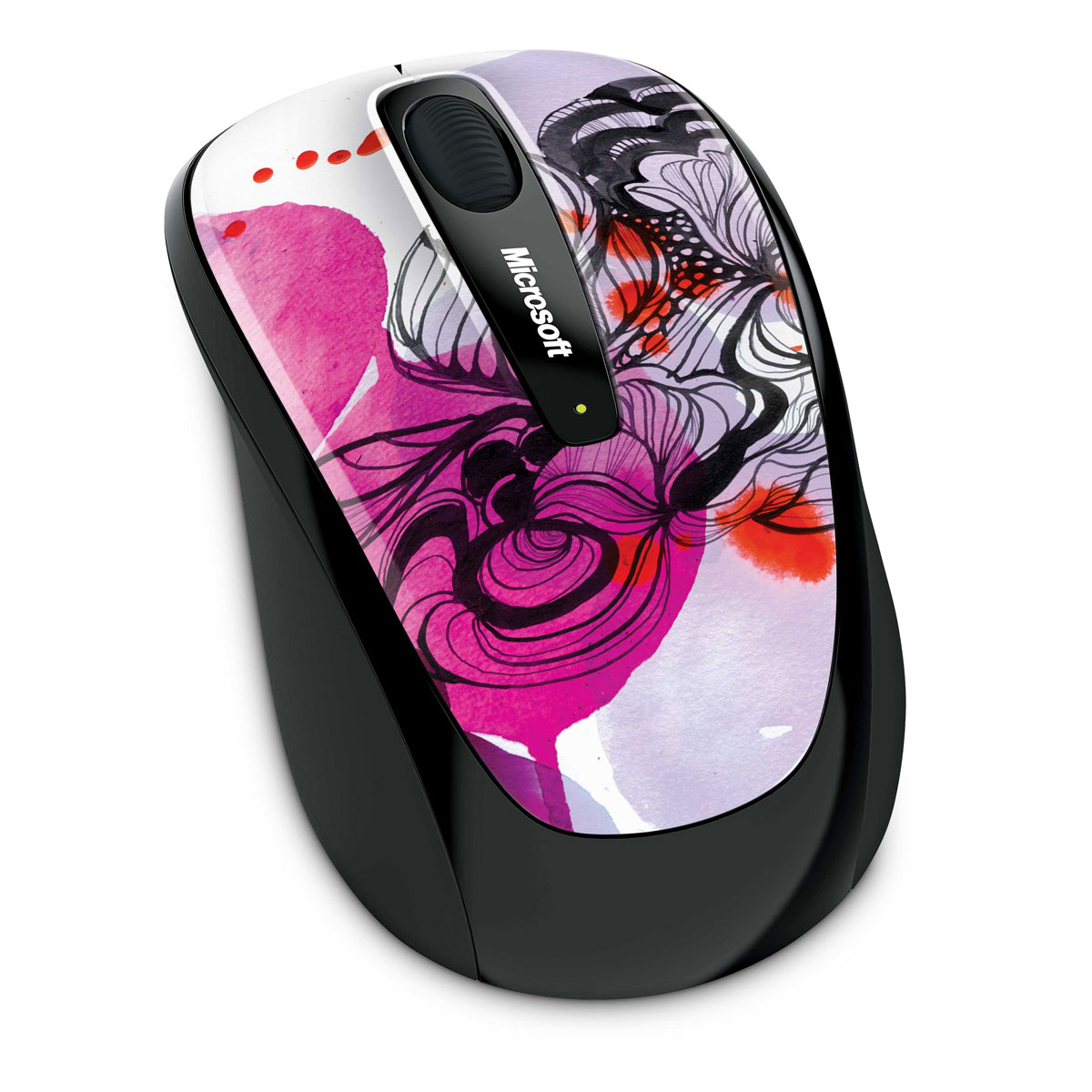microsoft wireless mobile mouse 3500 artist edition stina persson gmf 00188 achat vente. Black Bedroom Furniture Sets. Home Design Ideas