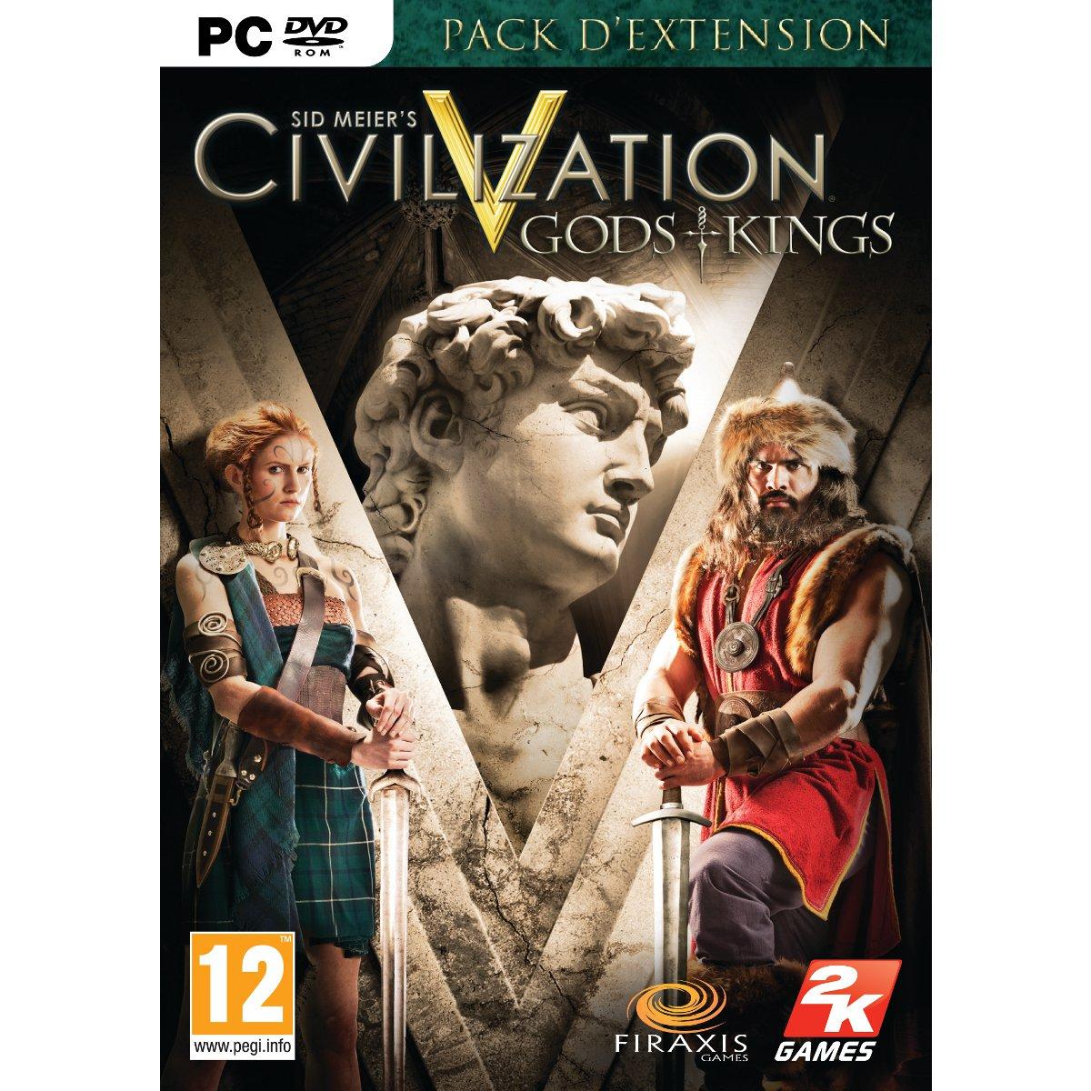 Jeux PC Sid Meier's Civilization V - Gods & Kings (PC) Sid Meier's Civilization V - Gods & Kings (PC)