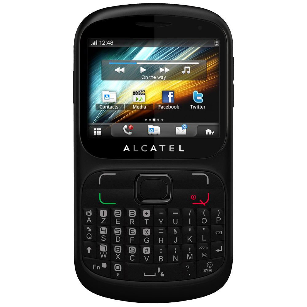 alcatel one touch 813d noir mobile smartphone alcatel. Black Bedroom Furniture Sets. Home Design Ideas