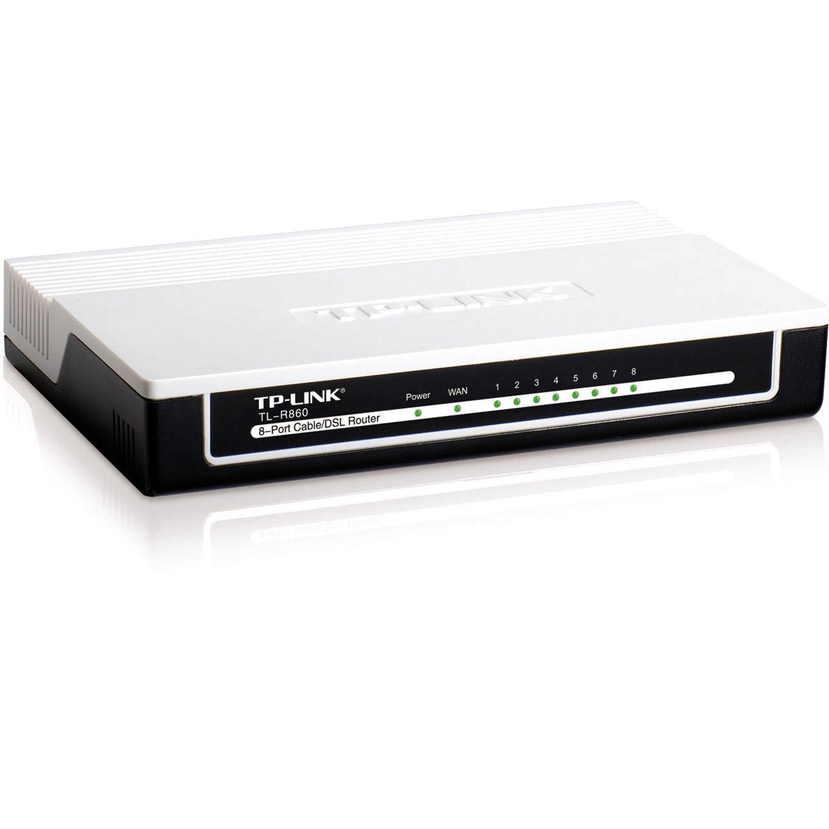 Modem & routeur TP-LINK TL-R860 Routeur 8 ports 10/100 Mbps