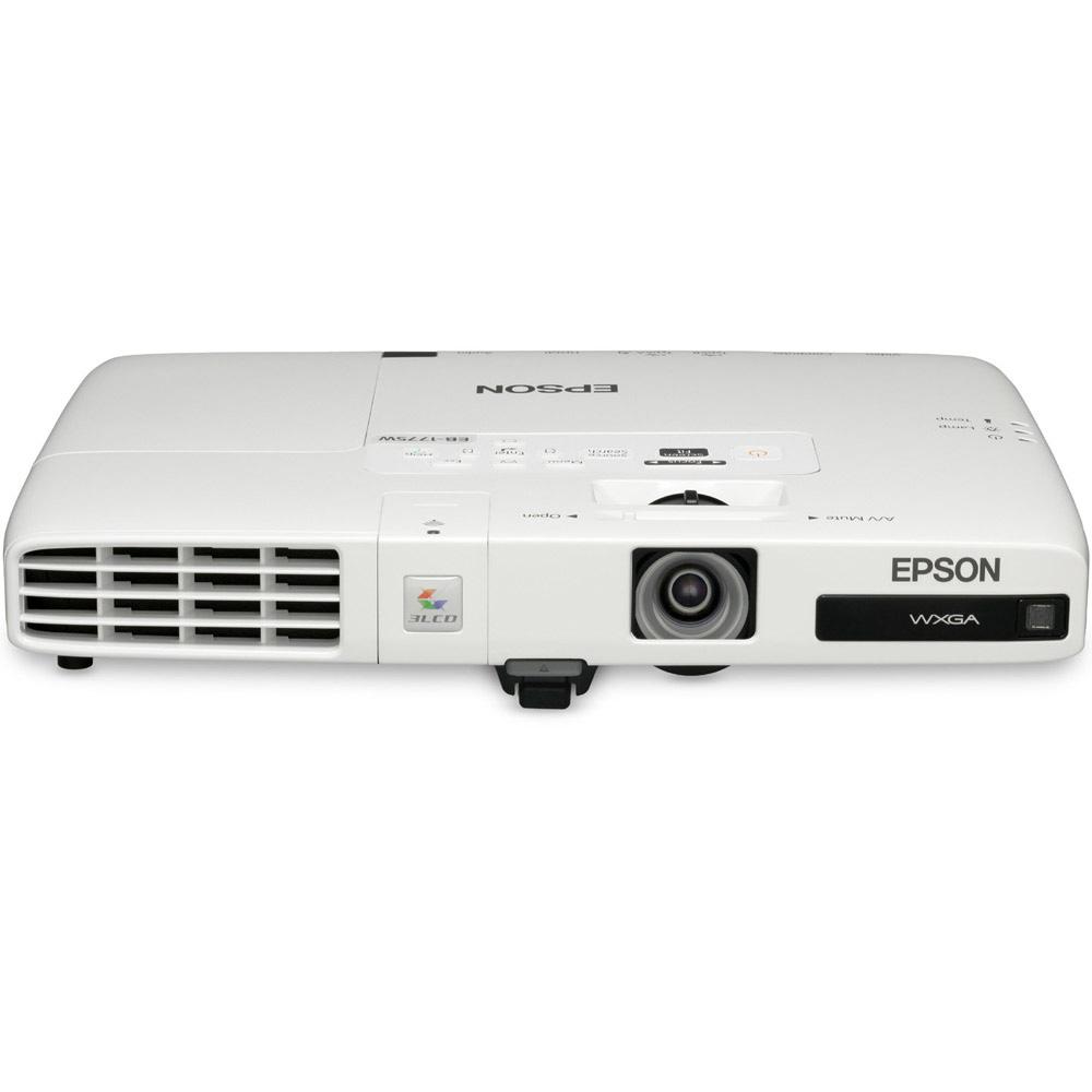 Vidéoprojecteur Epson EB-1761W Vidéoprojecteur LCD WXGA 2600 Lumens avec Fonction Display over USB (garantie constructeur 2 ans retour atelier/lampe 1 an)