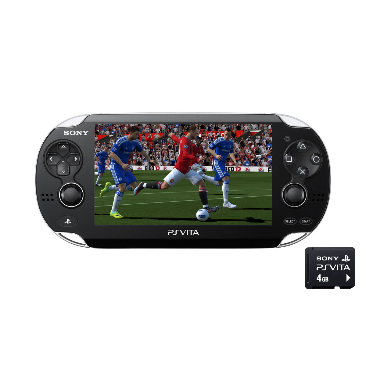 sony ps vita wifi noire fifa football carte m moire 4 go sm01396 achat vente. Black Bedroom Furniture Sets. Home Design Ideas