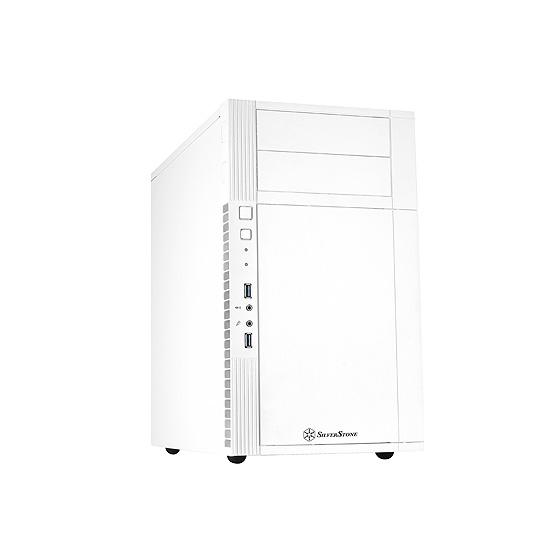 Boîtier PC SilverStone Precision PS07 (blanc) Boîtier mini-tour