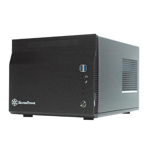 Boîtier PC SilverStone Sugo SG06 (noir) Boîtier mini-tour avec alimentation 300W