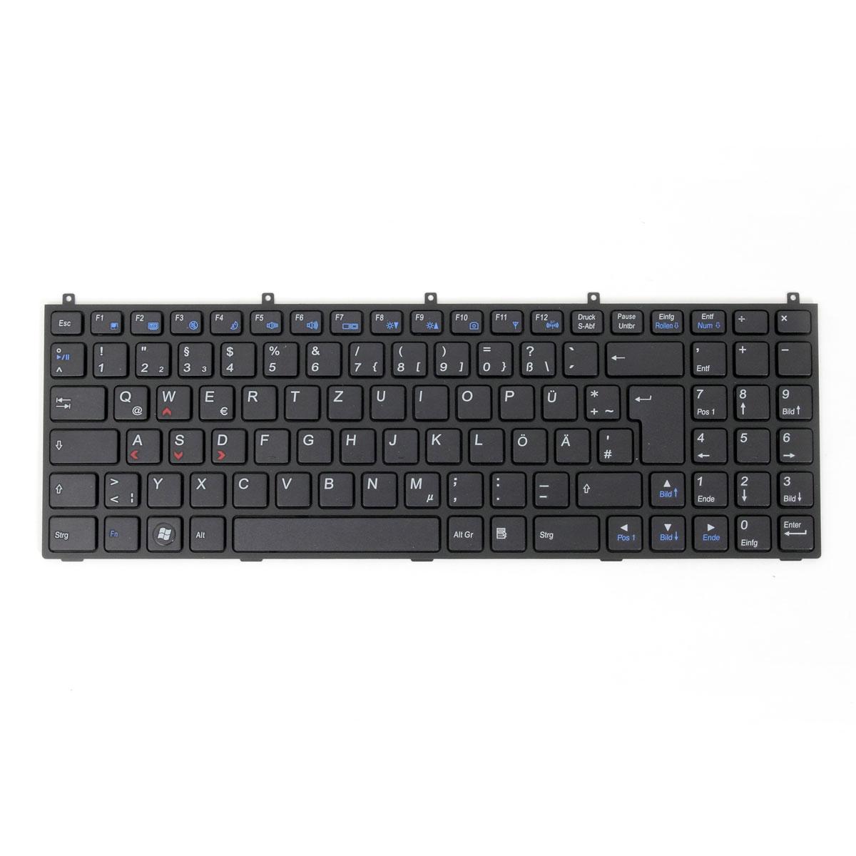 clavier pour pc portable ldlc bellone gb2 allemand kb. Black Bedroom Furniture Sets. Home Design Ideas