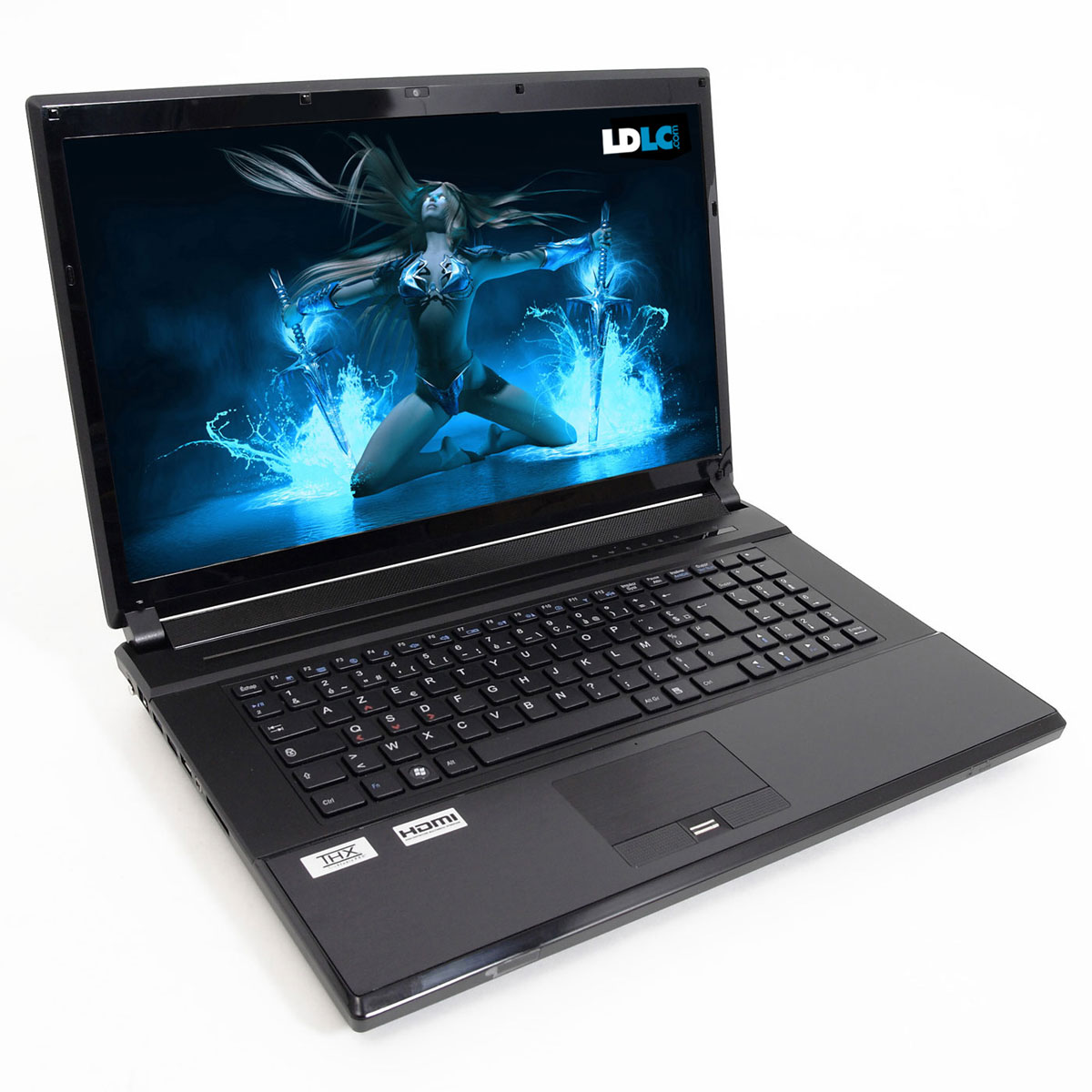 "PC portable LDLC Bellone GA2-I7-16-S5 Intel Core i7-2670QM 16 Go SSD 480 Go 17.3"" LED NVIDIA GeForce GTX 560M Graveur DVD Wi-Fi N/Bluetooth Webcam (sans OS)"