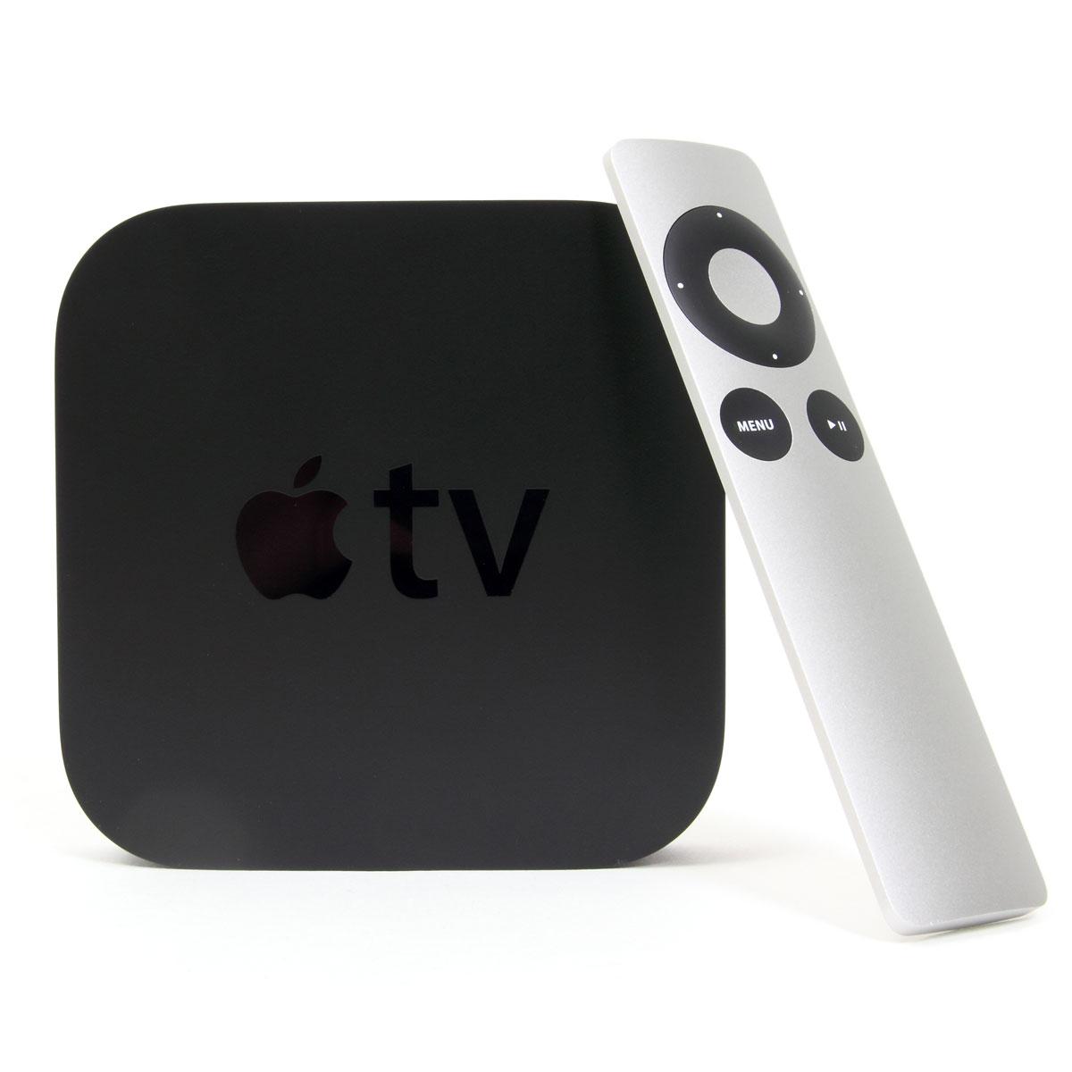 Lecteur multimédia Apple TV 3 (MD199FD/A) + AppleCare Protection Plan 2 ans Lecteur multimédia Haute Définition avec Airplay