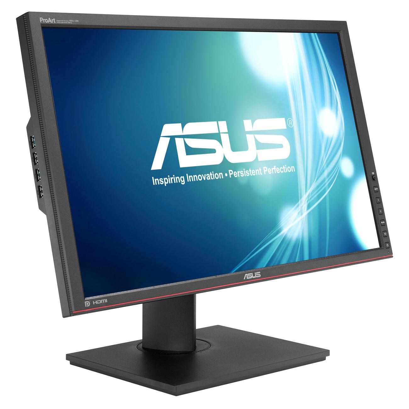 """Ecran PC ASUS 24.1"""" LED - PA248Q 1920 x 1200 pixels - 6 ms (gris à gris) - Format large 16/10 - Dalle IPS - Flicker Free - Pivot - Hub USB 3.0 - HDMI (garantie constructeur 3 ans)"""