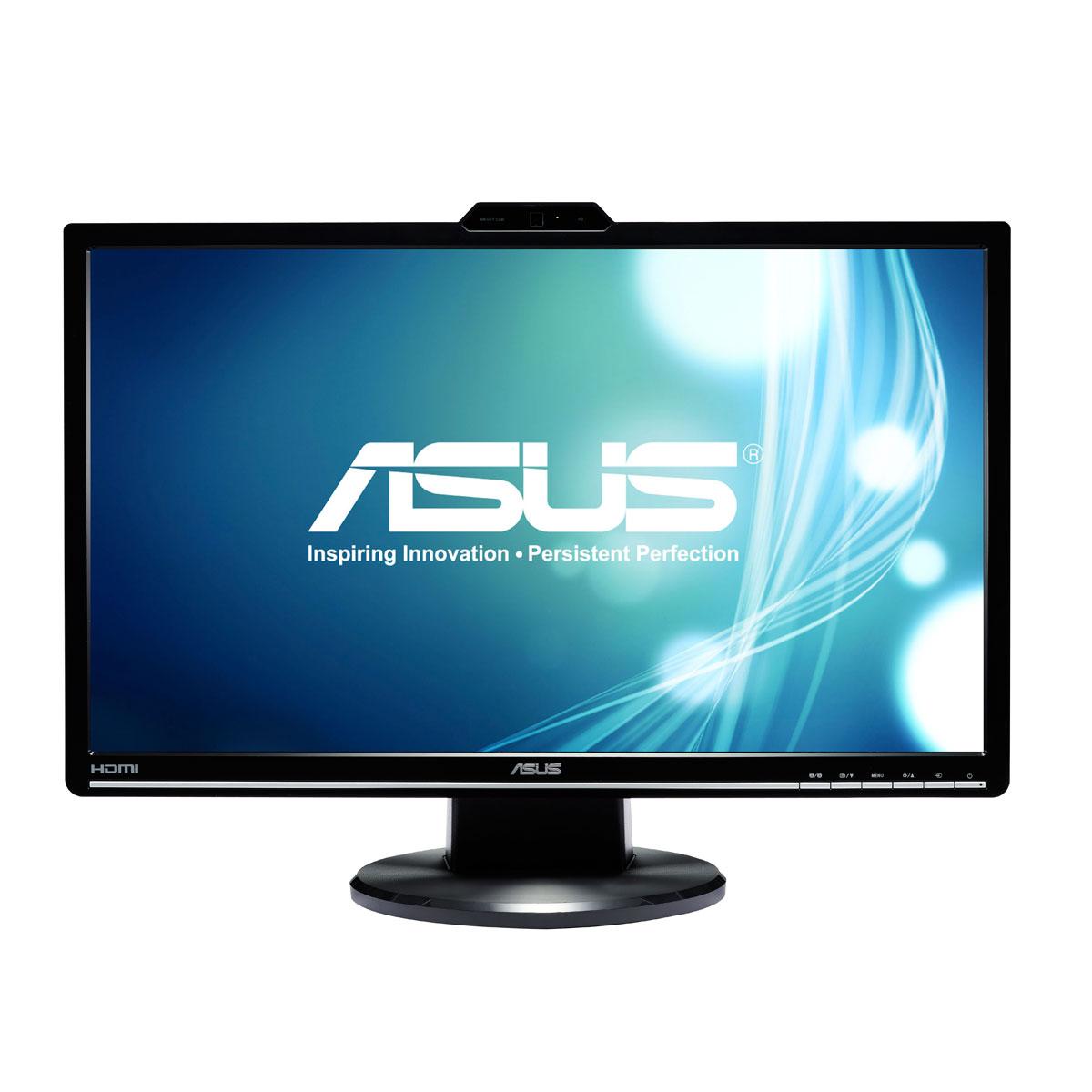 """Ecran PC ASUS 24"""" LED - VK248H 1920 x 1080 pixels - 2 ms -  Format large 16/9 - Webcam 1 Megapixel - HDMI (garantie constructeur 3 ans)"""