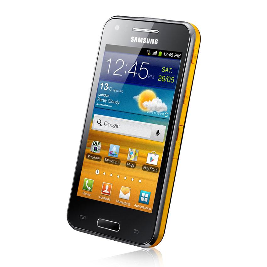 Samsung galaxy beam i8530 ebony grey mobile smartphone for Samsung beam smartphone
