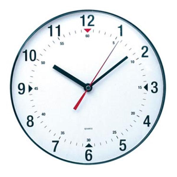 Mobilier et aménagement Alba Pendule Murale Ronde à Quartz Horloge Murale Ronde à Quartz