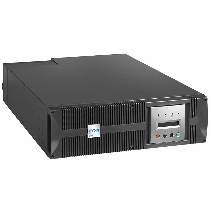 Onduleur rack Eaton EX RT 7kVA Network Pack - Rack (68076) Onduleur On-Line double conversion (Rack 3U)