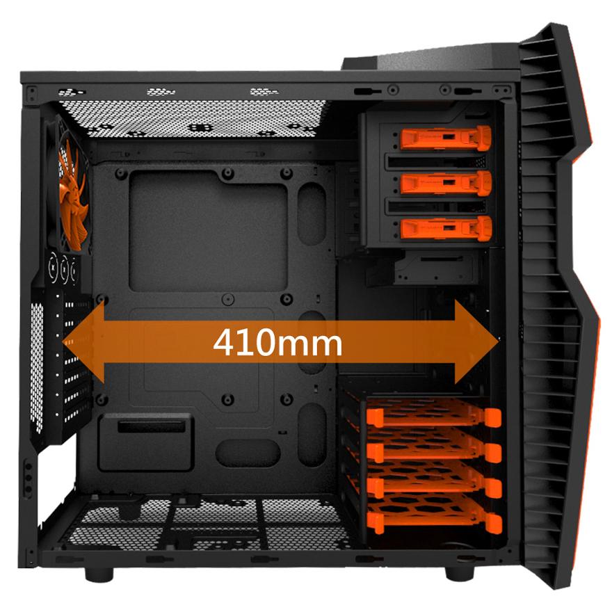 cougar challenger 6hm6 orange bo tier pc cougar sur ldlc. Black Bedroom Furniture Sets. Home Design Ideas