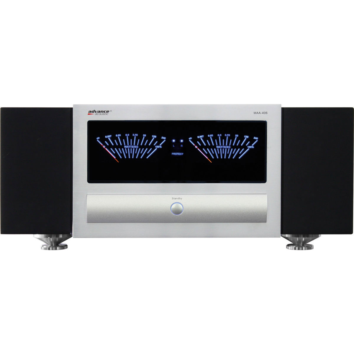 advance acoustic maa 406 amplificateur hifi advance. Black Bedroom Furniture Sets. Home Design Ideas