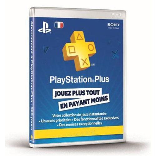 Accessoires PS3 Sony Livecards PlayStation Plus - Abonnement 1 An (PS4/PS3/PSP/PS Vita) Abonnement d'un an au service PlayStation Plus