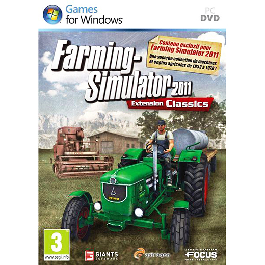 farming simulator 2011 extension classics pc jeux pc focus home interactive sur ldlc. Black Bedroom Furniture Sets. Home Design Ideas