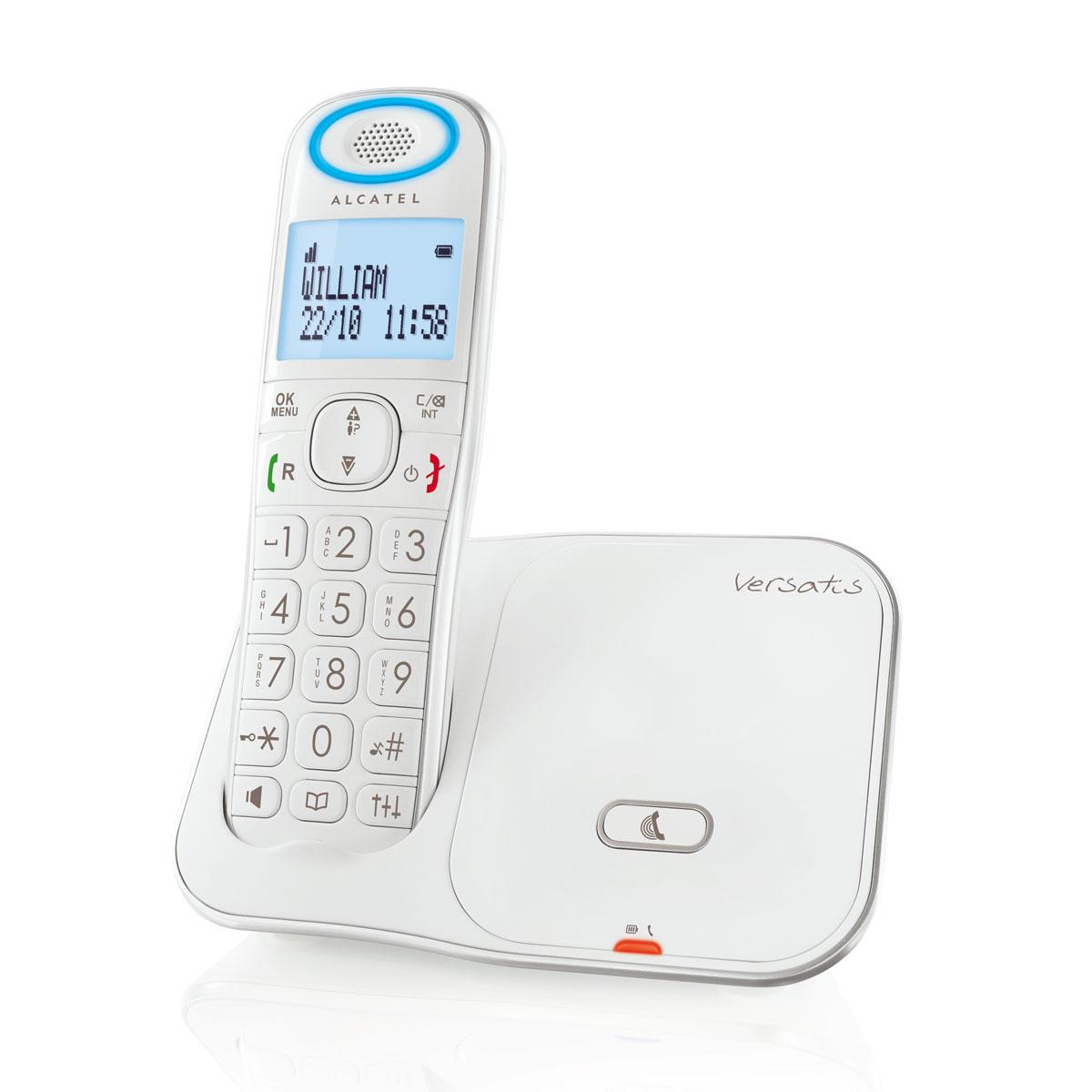 alcatel versatis xl350 t l phone sans fil alcatel sur ldlc. Black Bedroom Furniture Sets. Home Design Ideas