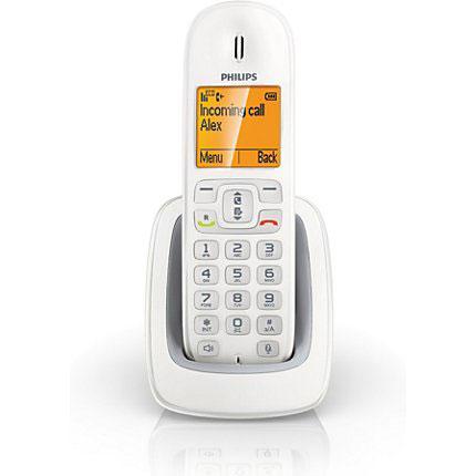 Téléphone sans fil Philips CD2950 Blanc Combiné supplémentaire pour téléphone DECT CD29 (version française)