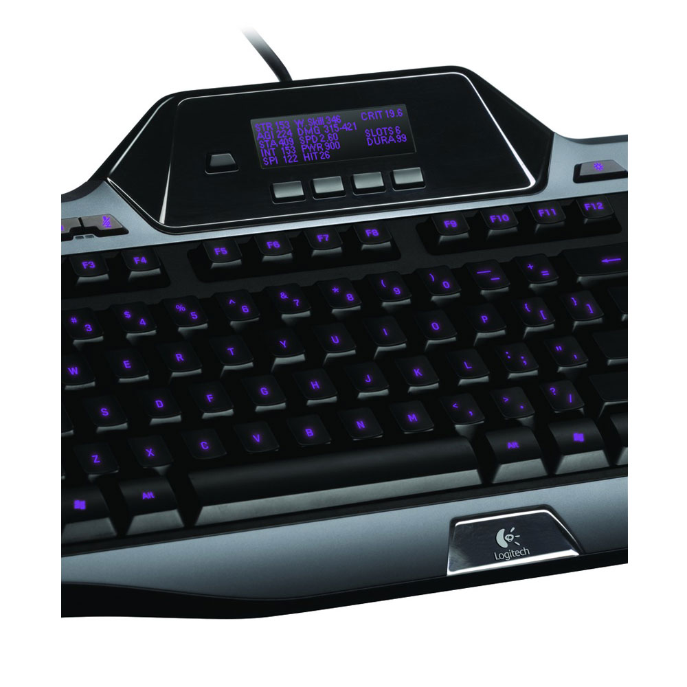 Logitech gaming keyboard g510 clavier pc logitech sur ldlc for Ecran pc photo numerique