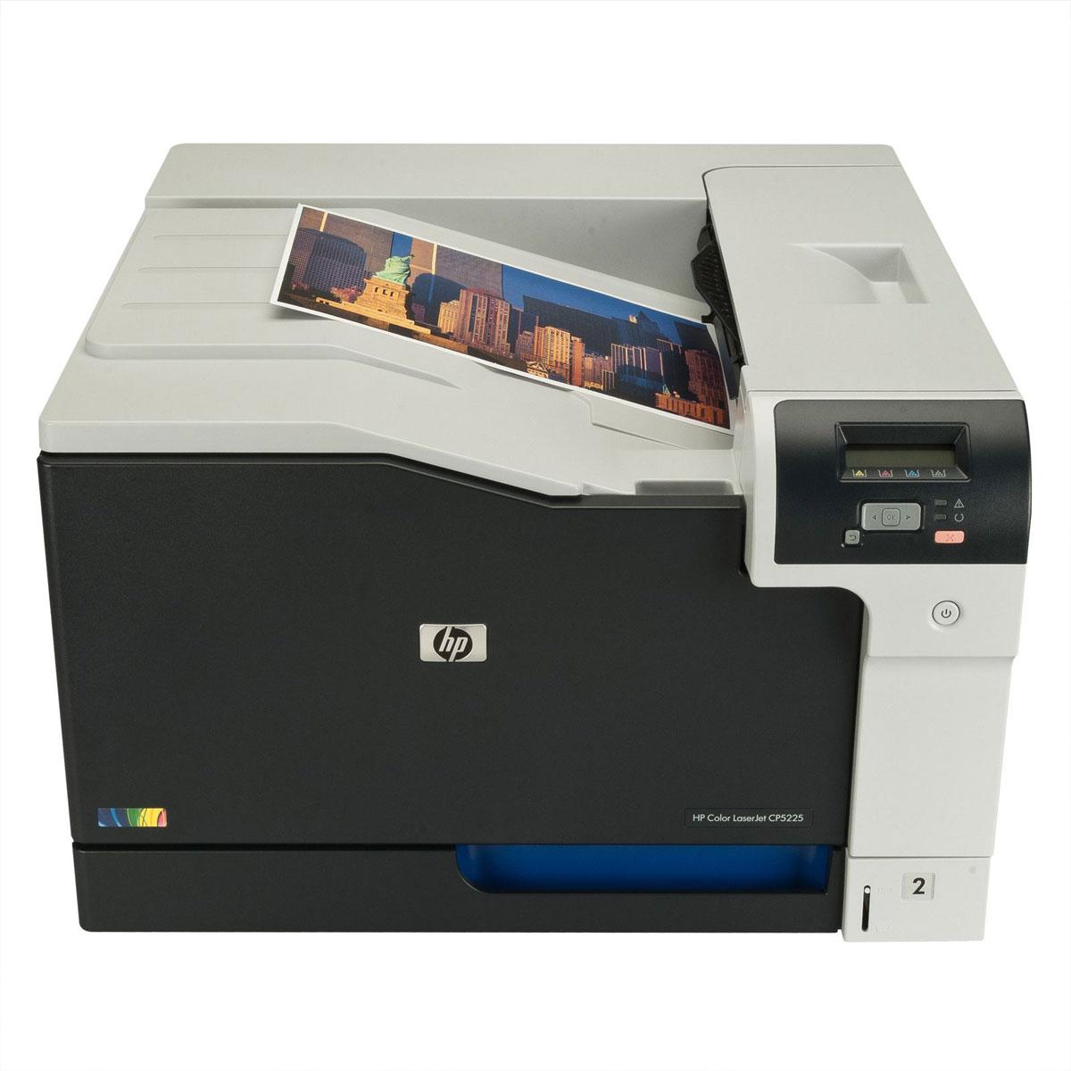 hp color laserjet professional cp5225 ce710a b19 achat vente imprimante laser sur. Black Bedroom Furniture Sets. Home Design Ideas