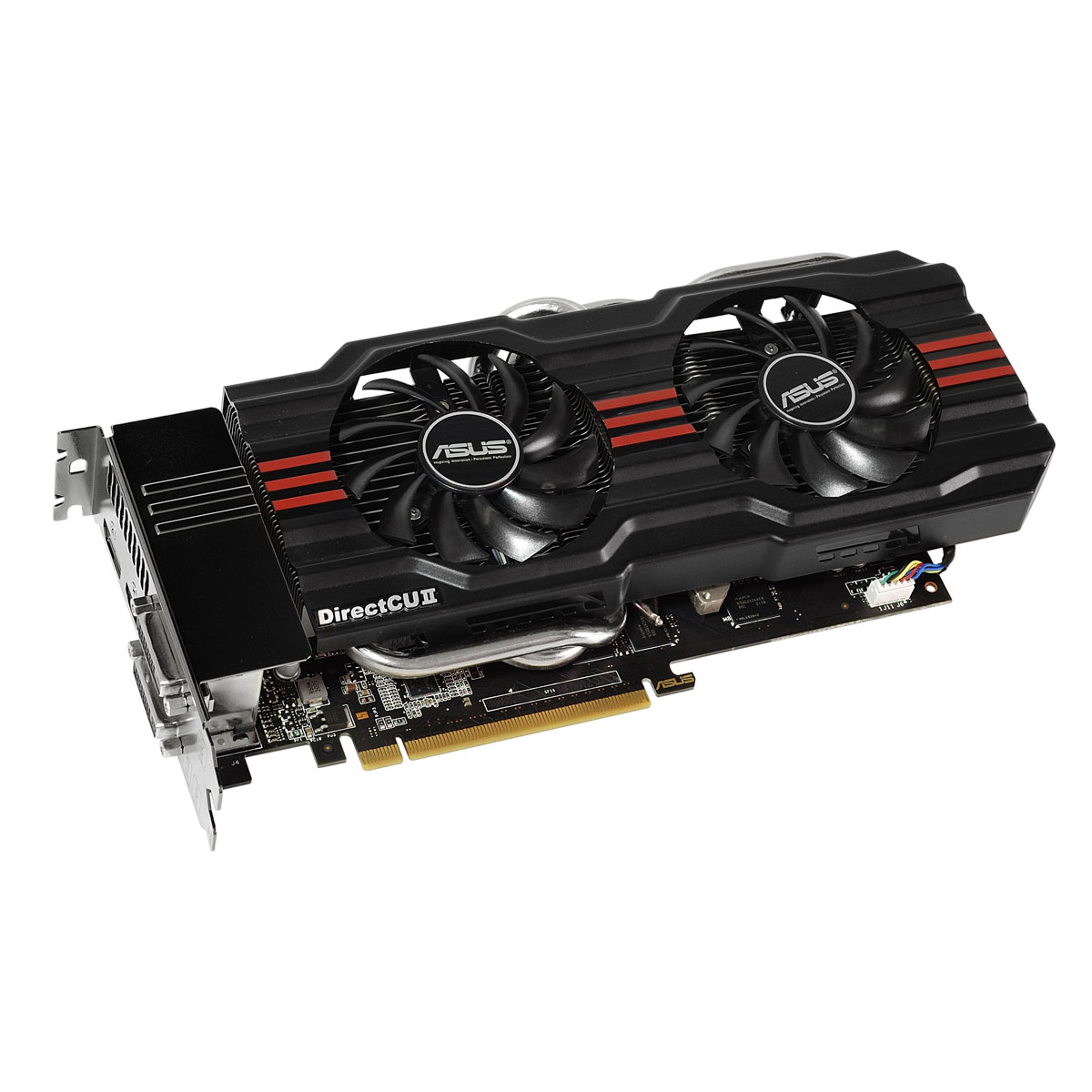 Carte graphique ASUS GTX660 TI-DC2OG-2GD5 2 GB 2048 Mo Dual DVI/HDMI/DisplayPort - PCI Express (NVIDIA GeForce avec CUDA GTX 660 Ti) + Borderlands 2