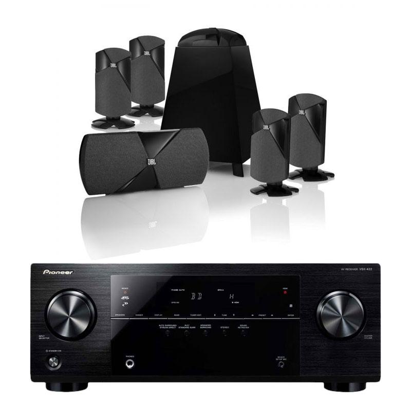 Pioneer vsx 422 jbl cinema 300 ensemble home cin ma for Yamaha ns p20 vs ns p40