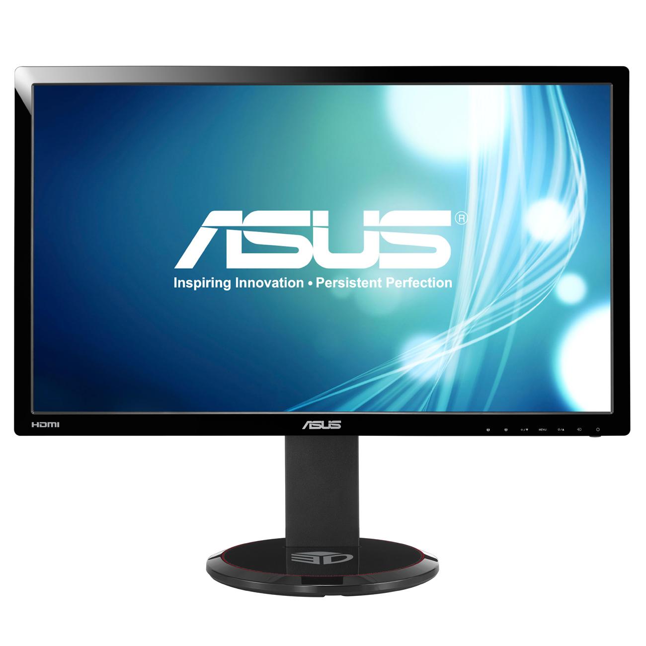 """Ecran PC ASUS 27"""" LED 3D - VG278HE 1920 x 1080 pixels - 2 ms (gris à gris) - Format large 16/9 - HDMI - 144 Hz - 3D Ready (garantie constructeur 3 ans)"""