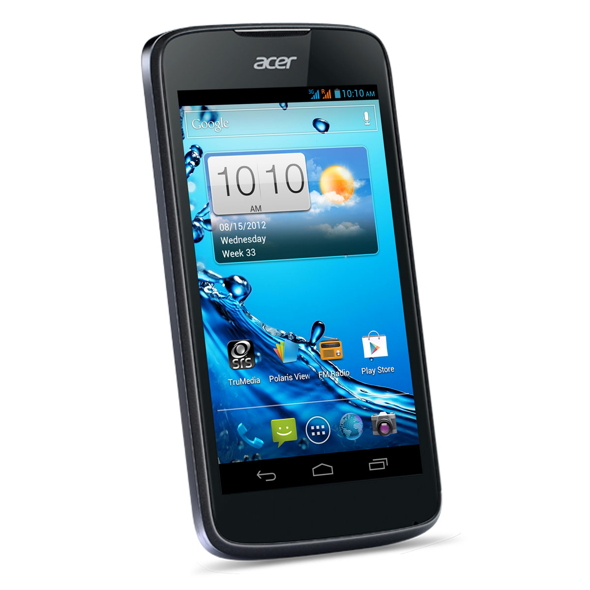 "Mobile & smartphone Acer Liquid Gallant Duo E350 Deep Black Smartphone 3G+ Dual Sim avec écran tactile 4.3"" sous Android 4.0"