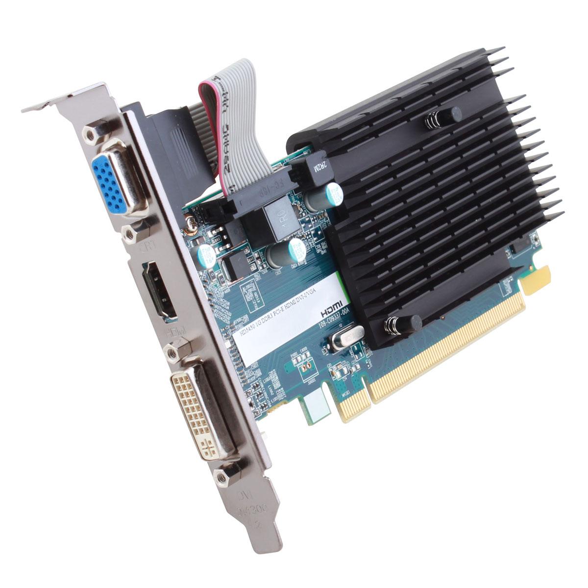 Sapphire Radeon HD 5450 1 Go - Carte graphique SAPPHIRE ...