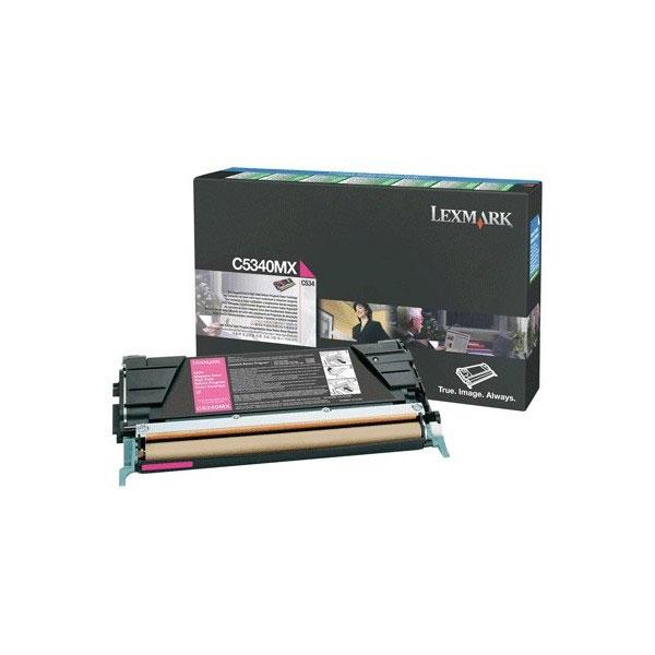 Toner imprimante Lexmark C5340MX Toner Magenta (7 000 pages à 5%)