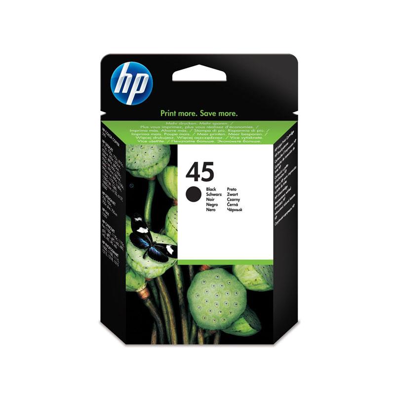 Cartouche imprimante HP 45 - 51645AE Cartouche d'encre noire