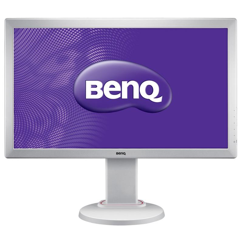 "Ecran PC BenQ 24"" LED - RL2450HT Blanc 1920 x 1080 pixels - 2 ms (gris à gris) - Format large 16/9 - Pivot - HDMI - Blanc"