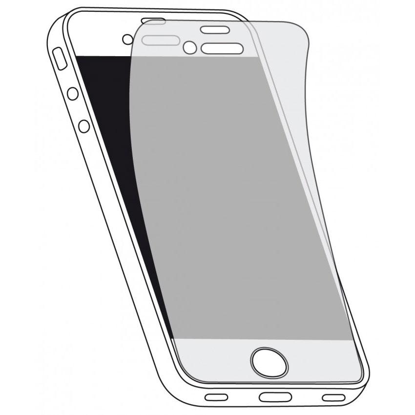 Accessoires iPhone xqisit iPhone 5/5c/5s Screen Protector (x3) Lot de trois films de protection écran pour Apple iPhone 5/5c/5s