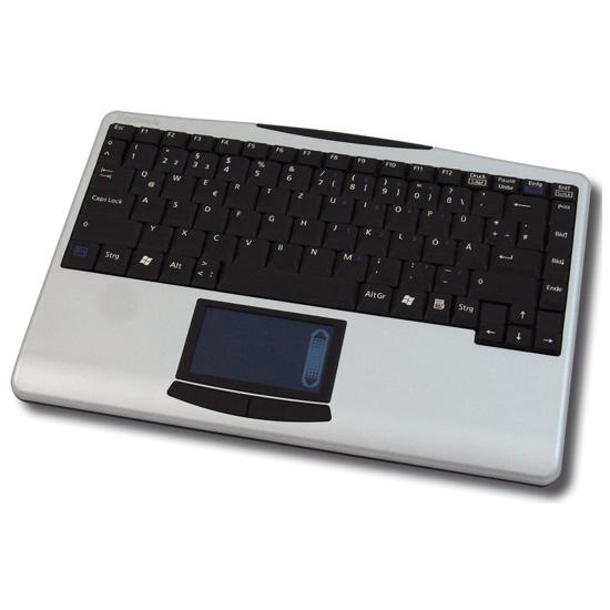 Clavier PC KeySonic ACK-540 RF Mini clavier sans fil avec TouchPad (AZERTY, Français)
